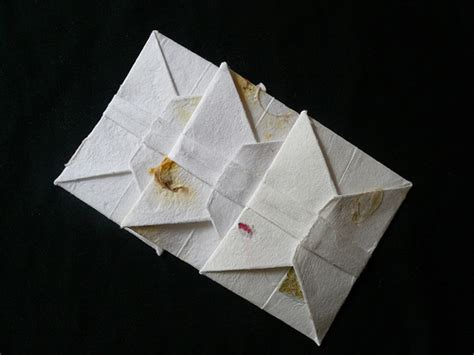 Origami Letters - origami letters mu back view flickr photo