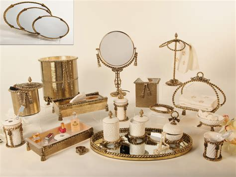 Decorative Bathroom Accessories Sets Vintage Styled Bathroom Accessories Sets Yonehome