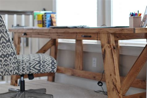 2x4 Desk by Gorgeous 2x4 Desk Plans By White Light Wood Stain
