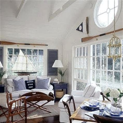 Sailboat Windows Designs Decorating Nautical With Wooden Oars As Wall Decor Rods Racks And Handrails Completely Coastal