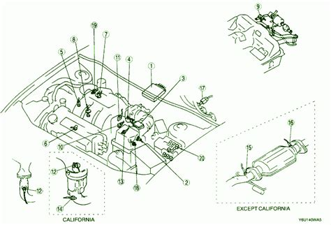 2001 mazda 626 engine fuse box diagram circuit wiring