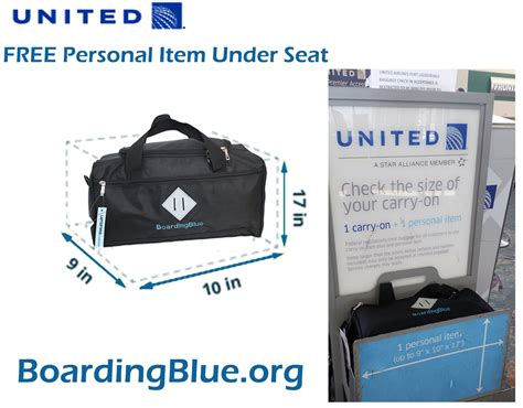 united airlines cracks on carry on bag size