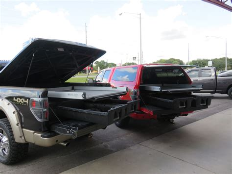 decked truck bed decked truck storage system topperking topperking