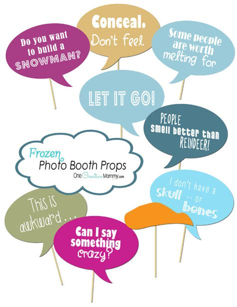 free printable photo booth props social media frozen photo booth props printables onecreativemommy com