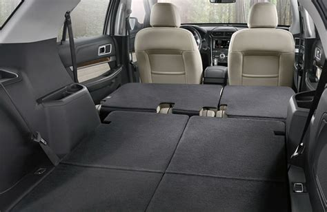 ford explorer   row seating