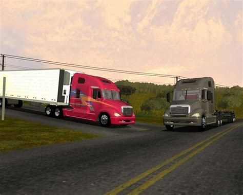 simulator game mod 18 wos haulin freightliner columbia 18 wos haulin simulator games