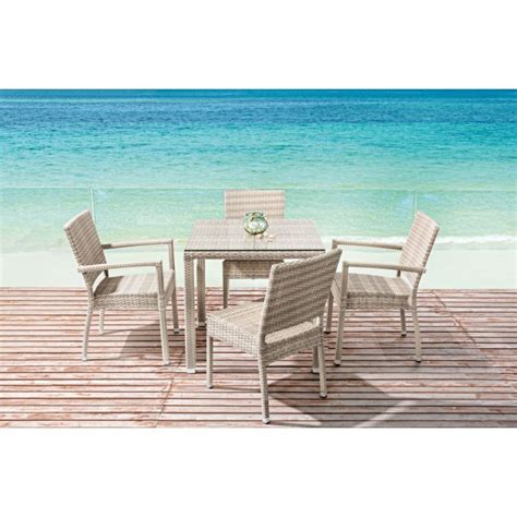 tavolo rattan bianco tavolo giardino in polyrattan etnico outlet mobili da