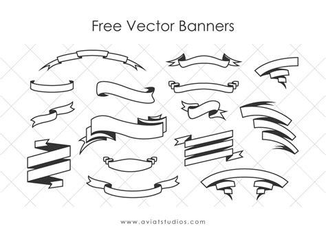 free doodle banner vector free vector banners aviatstudios