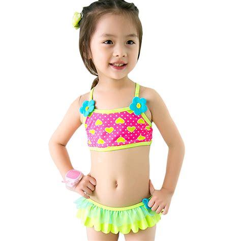 girls swimwear for kids jcpenney dailiwei summer baby girls two pieces separates swimwear