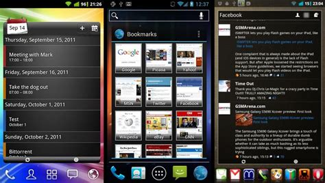 android pro widgets android pro widgets get sense like widgets on your android phone the android soul