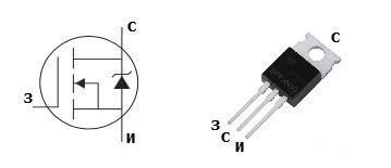transistor mosfet irfz24n параметры цоколевка и аналоги транзистора irfz24n справочник по импортным mosfet транзисторам