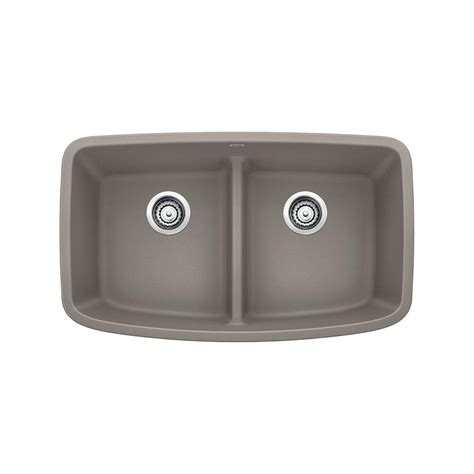 granite undermount kitchen sinks bowl blanco valea undermount granite composite 32 in equal