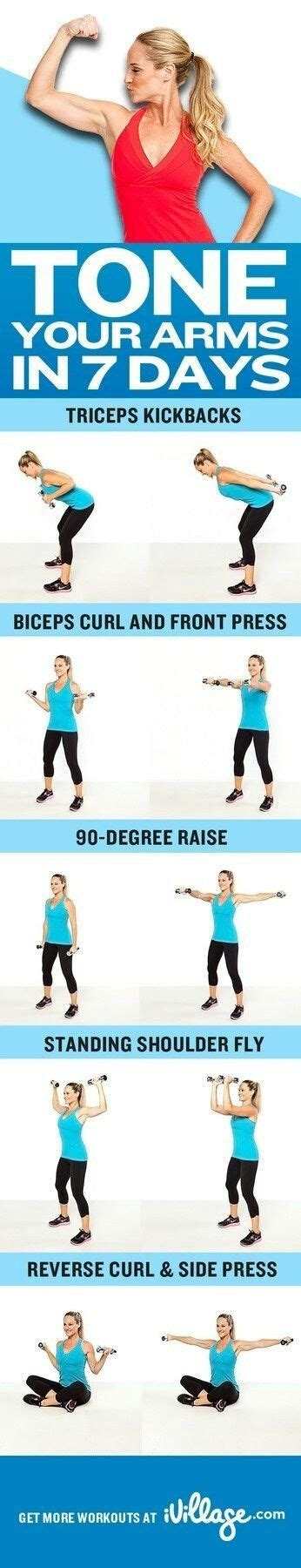 how to get toned arms tone your arms health pinterest