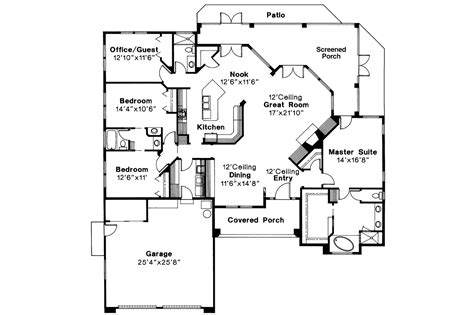 mediterranean house floor plans mediterranean house plans st augustine 10 302 associated designs