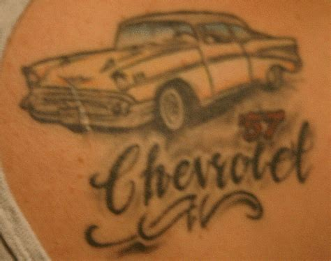 chevy symbol tattoos chevrolet logo