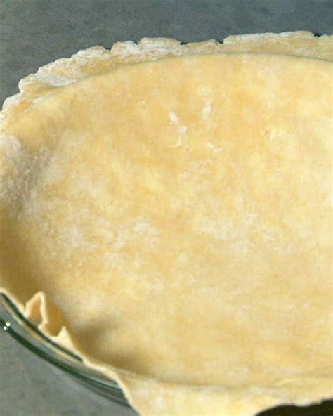 basic pie dough recipe martha stewart