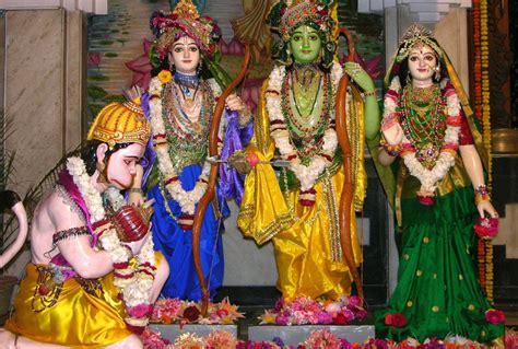 ram sita hanuman beautiful picture of ram sita lakshman and hanuman bhagwan