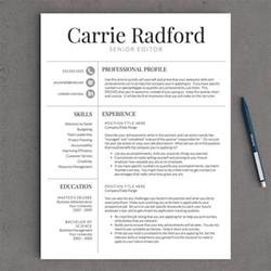 most professional resume template 141 best images about professional resume templates on