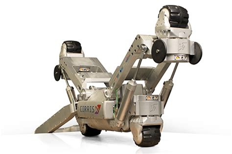 robotic wall system inspection of live cast iron gas mains robot makes repairs on live london gas mains the