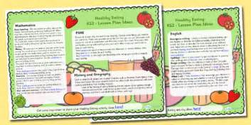 ideas for ks2 music lessons healthy eating lesson plan ideas ks2 healthy eating ks2