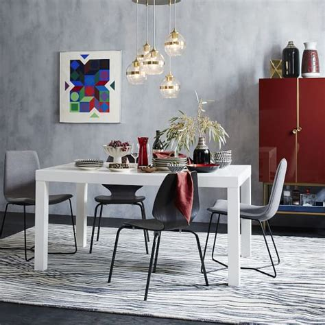 parsons dining tables parsons dining table rectangle west elm