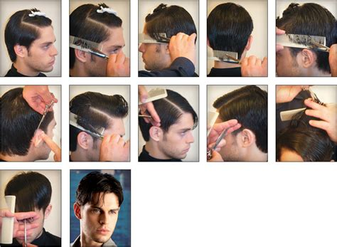 mens haircuts step by step mens hairstyle step by step comb mens hairstyle step by