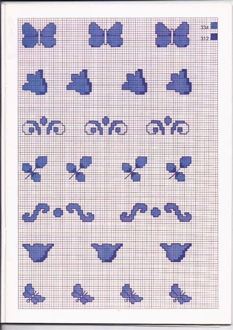 disegni a punto croce per cucina piccoli schemi punto croce monocolore per la cucina