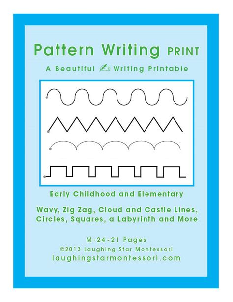 periwinkle pattern writing book pattern book writing