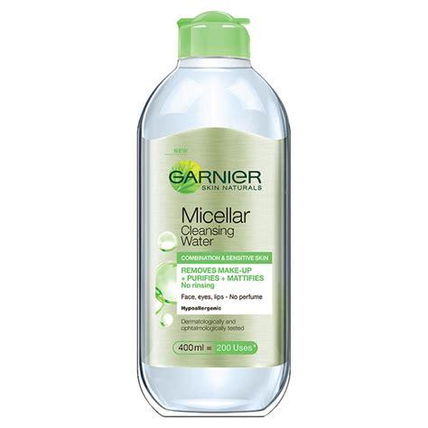 Cleansing Water garnier skin naturals micellar cleansing water combination and sensitive skin 400ml