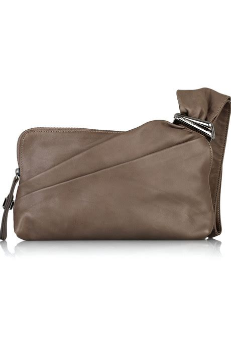 Other Designers Sang A Pleated Python Evening Clutch by Must Buy Heritage Henry Small Clutch Handbag Du