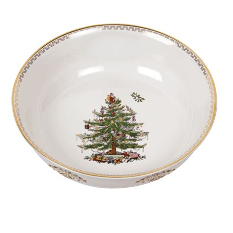 spode christmas tree gold large bowl 50 you save 50 00