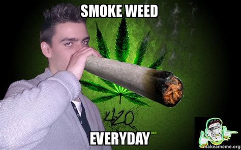 Smoke Weed Everyday Meme - smoke weed everyday make a meme
