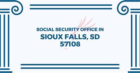 Social Security Office Sioux Falls Sd social security office in sioux falls south dakota 57108