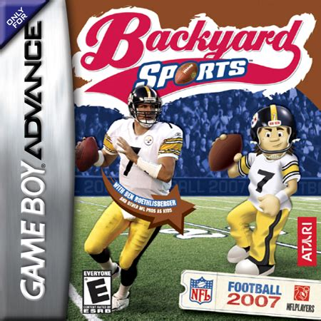 play backyard football play backyard sports football 2007 nintendo game boy