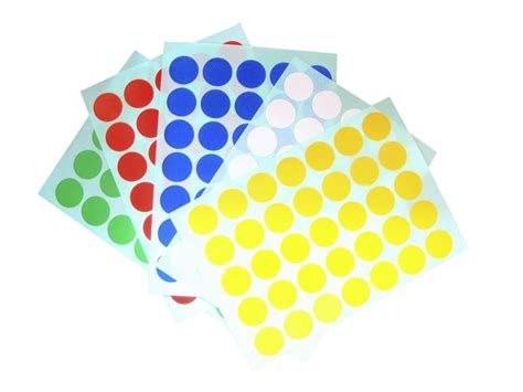 Label Stickers sticker labels singapore coloured 15mm labels for