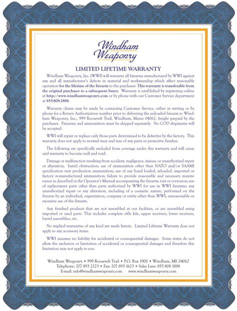 certificate of guarantee template warranty certificate templates blank certificates