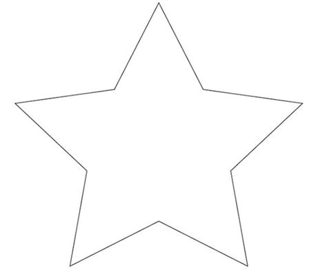 printable star template star template to print