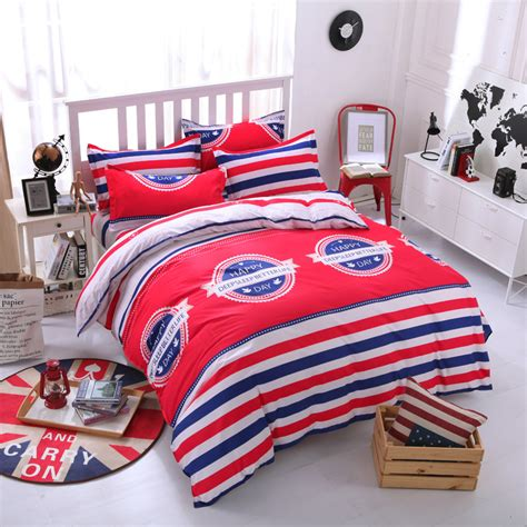 red and white striped comforter red and white striped bedding twin promotion shop for
