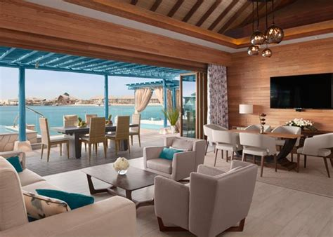 Living Room Restaurant Phuket Doha Luxury Hotels Water Villas In Doha At Banana