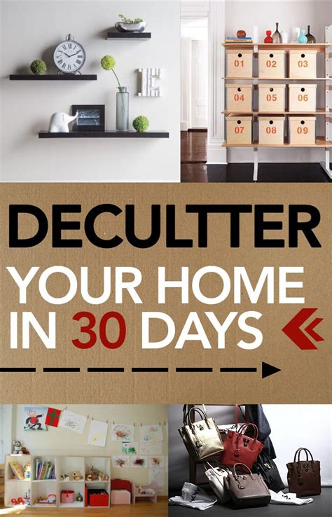 house organisation hacks declutter your home in 30 days organization hacks home