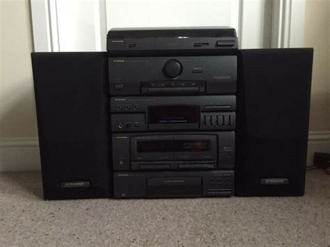 pioneer stereo cd cassette deck receiver turntable speakers  bannockburn stirling gumtree