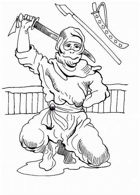 coloring pages of ninja warriors ninja warriors coloring pages