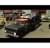 65 CHEVY PICK UP FLAT BED WRECKER 1/25 SCALE  YouTube