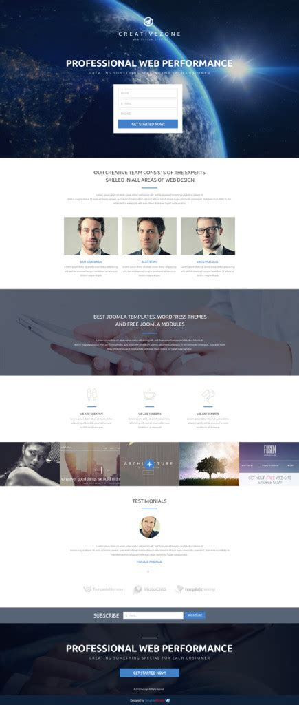 free responsive landing page template free responsive landing page template entheos