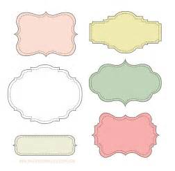 Labels Templates Free by Makea Free Label Frames Look At These Labels