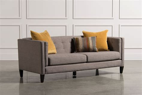 living spaces loveseat lorelai sofa living spaces