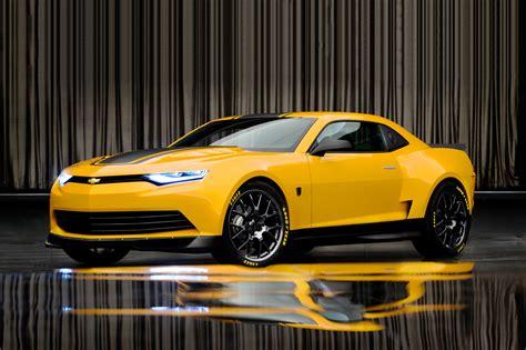2014 chevrolet camaro is new transformers 4 bumblebee