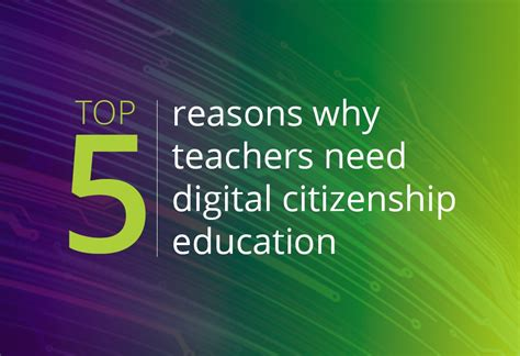 feminization of education one of five reasons why boys are top 5 reasons why teachers need digital citizenship