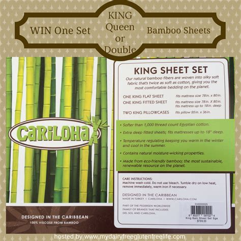 Sheets Giveaway - cariloha bamboo sheet set giveaway ends 04 10 14 it s free at last