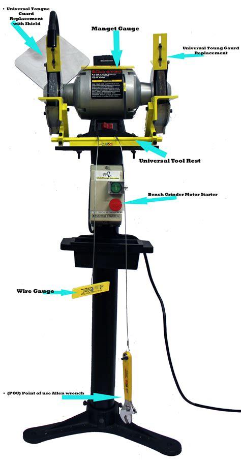bench grinder safety gauge bench grinder safety gauge odiz bench grinder adjustment safety kit odiz